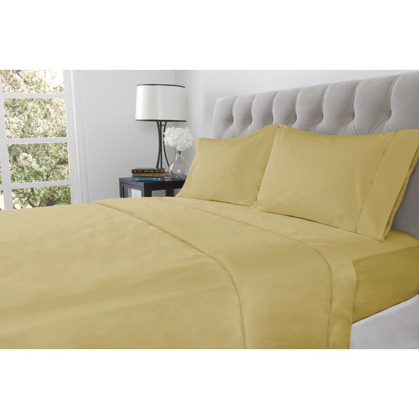 410 Thread Count 100% Cotton Fitted Sheet by Next Creations